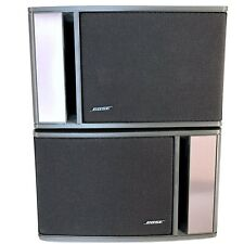 Genuine Pair Bose Model 141 Bookshelf Speakers 10-80 Watts 4-8 Ohms Stereo Amp
