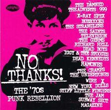 No Thanks! The 70's Punk Rebellion RARE promo sticker '03