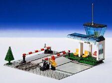 Lego 4532 Bahnübergang Eisenbahn mit Tower Manual Level Crossing 9 V mit BA
