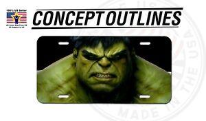 Hulk Aluminium Metal License Plate Tag Auto Car Truck T-Hulk#1