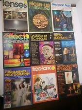 Petersens How To Photographic Library/Guide To - Vintage Lot Of 9