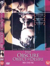 THAT OBSCURE OBJECT OF DESIRE (1977, Luis Buñuel) DVD NEW