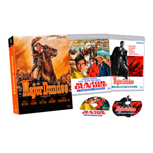 Major Dundee (1965) Blu-Ray Imprint Limited Edition 2 Disc Collection New