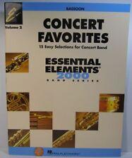 Hal Leonard Concert Favorites Essential Elements 2000 Vol.2 Bassoon