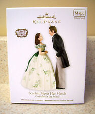 Hallmark 2012 Scarlett Meets Her Match Ornament, Gone With The Wind