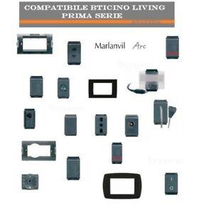 LIVING CLASSICA BTICINO COMPATIBILE  PRIMA SERIE PRESA INTERRUTTORE USB TV RJ45