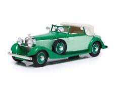1934 HISPANO SUIZA J12 DROPHEAD COUPE GREEN LTD ED 1/18 ESVAL MODELS EMEU18001 A