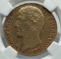 1803 FRANCE Napoleon Bonaparte 40 Francs Antique French Gold Coin NGC i80932