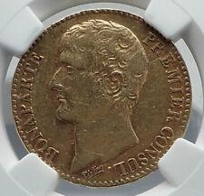 1803 FRANCE Napoleon Bonaparte 40 Francs Antique French Gold Coin NGC i80932