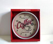 Unbranded Kitchen Coffee Wall Clocks