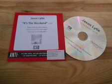 CD Pop Jason Lytle - It's The Weekend (1 Song) Promo ANTI- REC cb