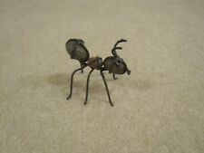 Ant decorative figurine insect made of rock and wire used
