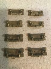 Extremely RARE MINIATURE VICTORIAN  EASTLAKE SET Period OLD PULLS!