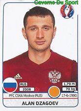 171 ALAN DZAGOEV RUSSIA CSKA.MOSKVA STICKER EURO 2016 PANINI