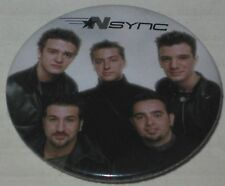 NSYNC Tour Pin - Licensed Justin Timberlake 1.75""