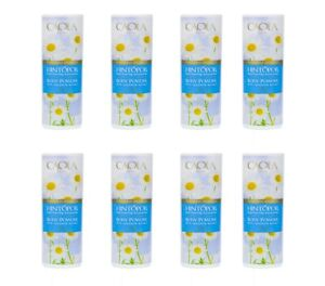 8x100g Caola Classic Body Powder with Chamomile Extract - DHL Express Shipping
