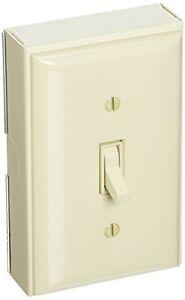 Wiremold B2S Metallic 1 Pole Switch Kit, Ivory