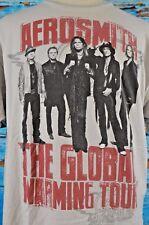 Aerosmith Men's Graphic Shirt Sz XXL Concert City 2012 Tultex Global Warming 2XL