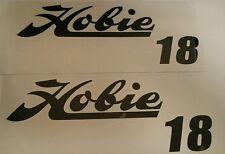 Hobie 18 SAILING YACHT BATEAU CATAMARAN voile Voiture Camping-Car Sticker Decal 600 mm