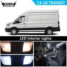 2013-2018 Ford Transit White Interior LED Light Package Kit for MAP DOME LICENSE