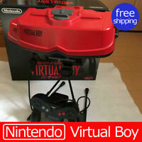 "Nintendo Virtual Boy Console with BOX "" Good Condetion Complete Mario japan"