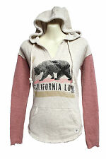 NEW BILLABONG WOMENS FRENCH TERRY PULLOVER SWEATSHIRT HOODIE HOODED TOP SHIRT M