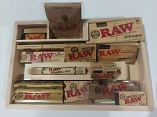 Raw Deluxe Wooden Tray Gift Set - Packed With Raw Products - Papers - Tips +more