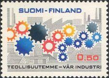 Finland 1971 Industry/Commerce/Business/Cogwheels/Factories 1v (n19580r)