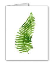 Fern Leaf Note Cards With Envelopes
