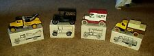 LOT OF 4 ERTL Early 20th Century JC Penney Co. Die-Cast Metal 1/25 Scale Banks