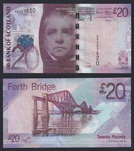 Scozia 20 pounds 2007 SPL+/XF+  A-10