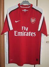Arsenal 2008 - 2010 Home football shirt jersey Nike size L