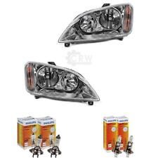 Scheinwerfer Set Satz Ford Focus C-Max Bj. 03-07 inkl. Philips H7+H1 elektr. LWR