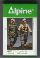 ALPINE MINIATURES 35153 - WSS GRENADIER SET - 1/35 RESIN KIT