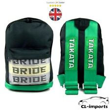 BRAND NEW Bride Backpack Takata Straps Bag JDM Honda Toyota Mitsubishi Nissan UK