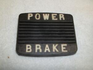 1953-55 Buick Brake Pedal Pad, Power Brake