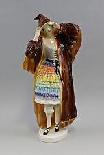 9941484 Große Porzellan Figur Kolumbine Karneval Ens H39cm