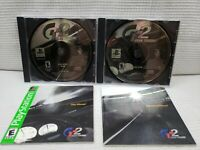 SONY PLAYSTATION 1 PS1 GRAN TURISMO 2 SONY 1999 RATED E WITH BOTH DISCS MANUALS