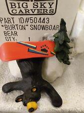 "Bearfoots.Jeff Fleming'S ""Burton Snow Boarding"".Big Sky Carvers.Numbered"