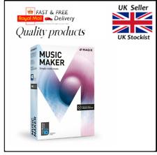 New MAGIX Music Maker 2017 Plus - UK Version - For Windows 10/8/7 just £29.99