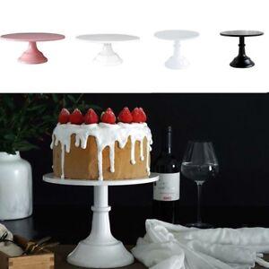 10/12 Inch Iron Round Cake Stand Pedestal Dessert Holder Wedding Party Deco