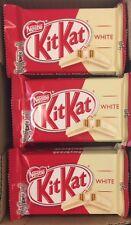 NESTLE KIT KAT cioccolato bianco 4 Finger bar-Box COMPLETO 24 BAR