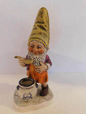 "Goebel Co-Boy Figurine ""Sam ""The Gournmet Gnome Germany Retired Mint"