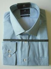 "M&S COLLECTION PURE COTTON MEN'S SHIRT NON IRON SLIM FIT 18.5"" RRP £29.50"