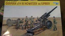DRAGON  GERMAN  sFH 18 Howitzer w/ Limber 1/35 Scale 6392