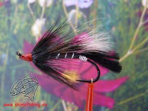 Lachsfliege COSSEBOOM BLACK, 3er Set