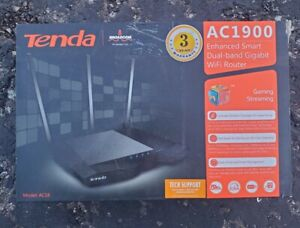 Tenda AC18 Wireless-AC1900 Dual Band Gigabit Router 1300Mbps at 5GHz 600Mbps