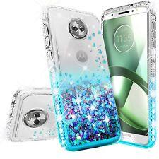 Motorola Moto G6 , Moto G6 2018 Case Liquid Glitter Phone Case Waterfall Floatin