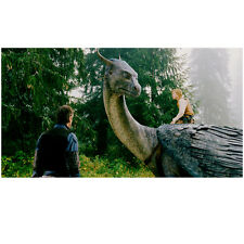 Eragon Ed Speelers Riding Dragon Saphira and Jeremy Irons 8 x 10 Inch Photo