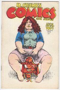 R.Crumb's Comics & Stories.   2nd Print.   ( Version A )    VF